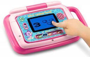 Pink LeapFrog 2-in-1 tablet