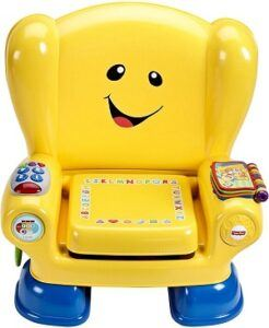 yellow smart stages chair