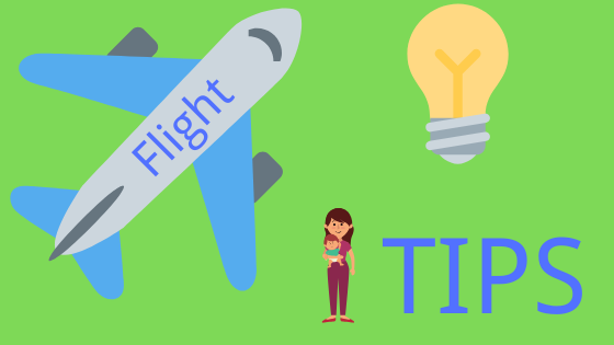 Flight with a toddler tips