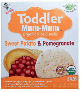 Hot Kid Toddler Rice Biscuits