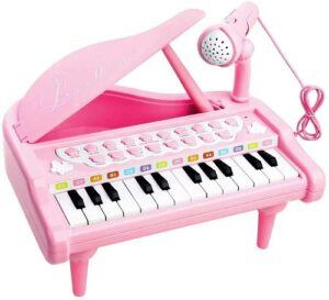 Best musical instruments for toddlers-Piano Keyboard Toy