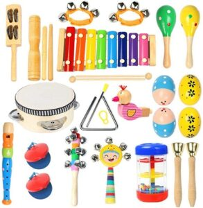 Best musical instruments for toddlers-musical toy set