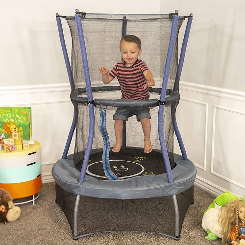 Toys for hyperactive toddlers-skywalker mini trampoline