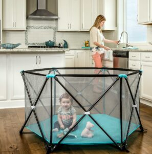 alternatives to baby walkers-portable play yard