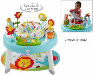alternatives to baby walkers-sit to stand activity center