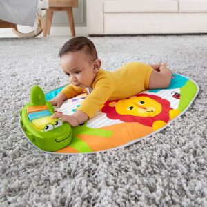 baby on a playmat