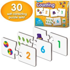 counting toys for 2 year olds- Correcting Number & Learn to Count Puzzle