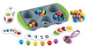 counting toys for 2 year olds-mini muffin counting toy set