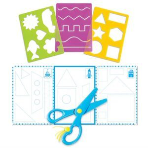 fine motor skills toys for toddlers-trace scissors skills set