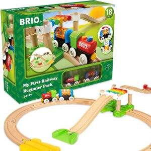Brio My First Railay wooden train set with package
