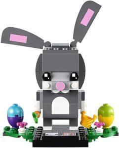 Easter toys for toddler boys-grey color LEGO brickheadz easter bunny