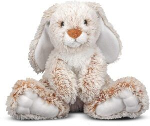 Easter toys for toddler boys-stuffed bunny