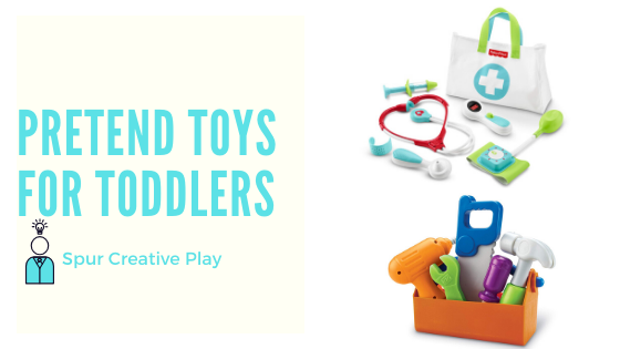 Pretend toys for toddlers feature image