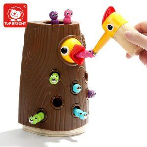 educational toys for 2 year olds-Bird Feeding Game Toy