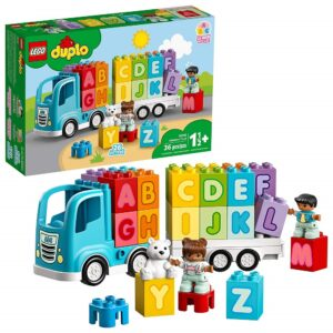 educational toys for 2 year olds-LEGO DUPLO my first alphabet truck