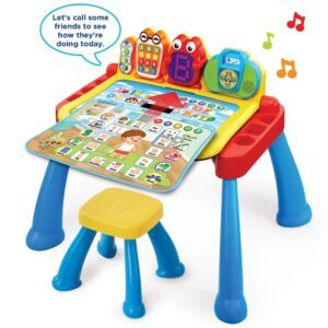 educational toys for 2 year olds-VTech Touch and learn activity desk