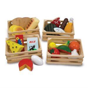 Melissa & Doug wooden food groups