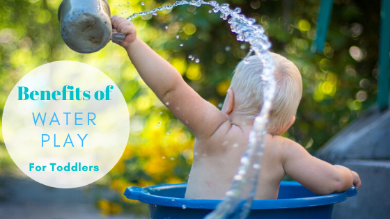 Benefits of water play for toddlers-fearture image