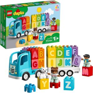 Duplo Legos for toddlers-My First Alphabet Truck