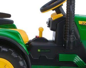 John Deere Ground Force tractor side look