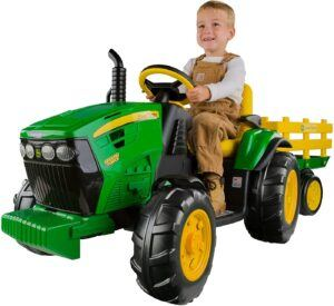 ride on tractors for toddlers-John Deere Ground Force Tractor
