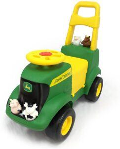 ride on tractors for toddlers-John Deere Sit 'N Scoot Activity Tractor