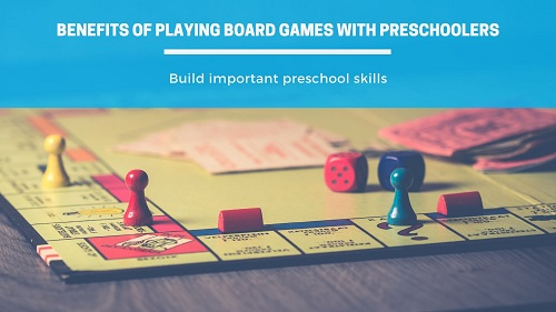 Benefits of playing board games with preschoolers-feature image