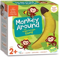 Best board games for 2 years old-Peaceable Kingdom Monkey Around