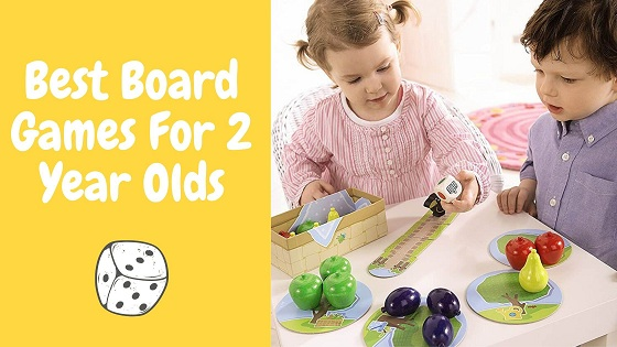 Best board games for 2 year olds-feature image