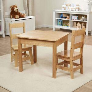 Melissa&Doug kids furniture set-2 chairs and 1 table