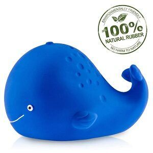 Pure Natural Rubber Whale Bath Toy