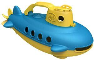Green Toys Submarine Toy in yellow and blue