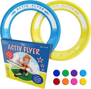 Kid's Flying Rings-2 pieces-blue yellow