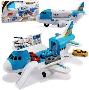 Tuko Transport Cargo Airplane with mini cars