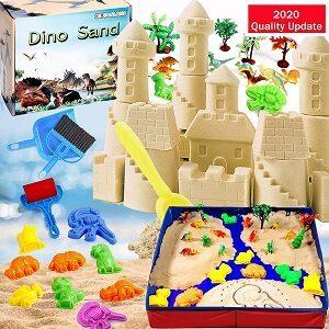 dino play sand kit