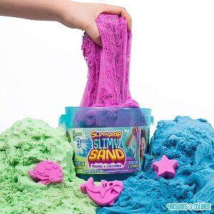 3 colors slimysand bucket