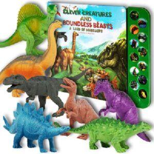Li'l-Gen Dinosaur Set with Sound Book