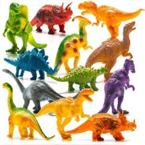 Prextex 12 pieces Dinosaur Pack