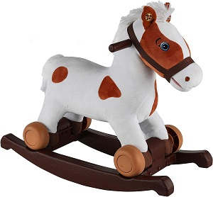 Rockin' Rider Carrot 2-in-1 Pony Plush Ride-On,