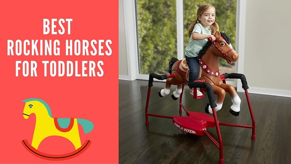 best rocking horses for toddlers-feature image