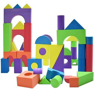 50 pieces Foam Building Blocks - 副本