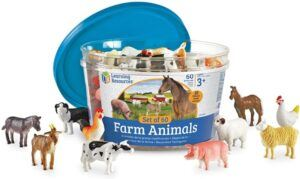 Learning Resources farm animal toys