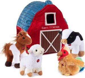 Plush Creations Plush Farm Animals for Toddlers