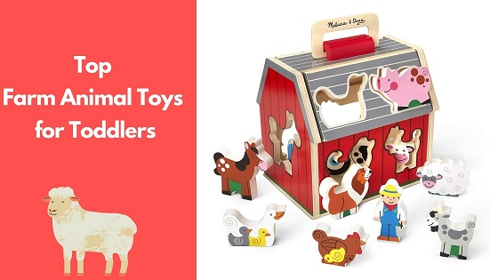 farm animal toy for toddlers-feature image