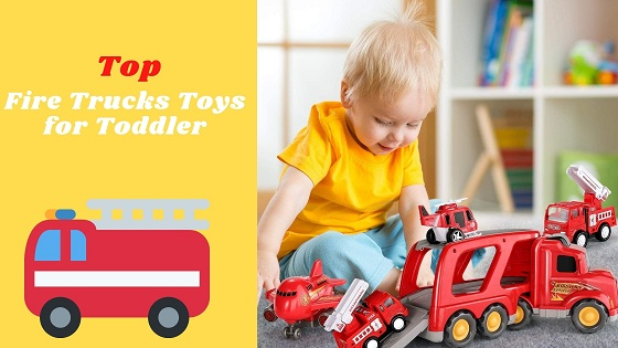 fire truck toys for toddlers-feature image