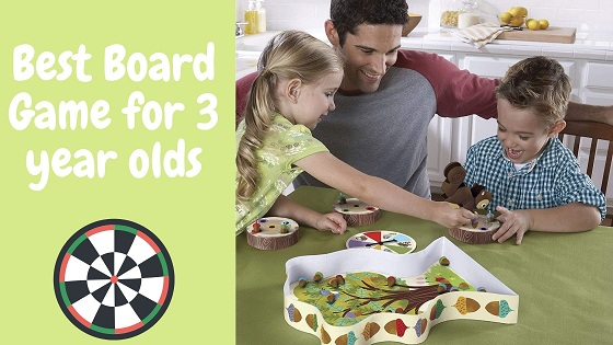 best board game for 3 year olds-feature image