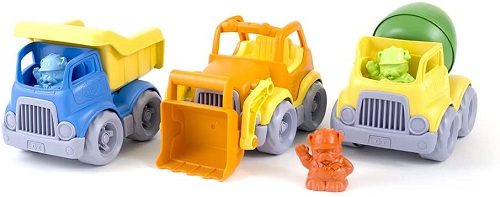 Green Toys 3 Construction Vehicles