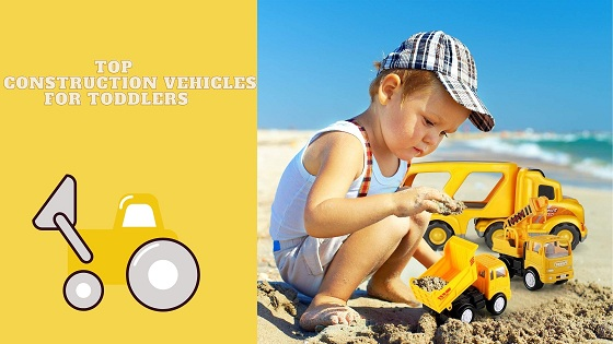 construction vehicles for toddlers - feature image