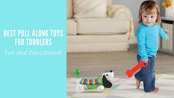 Best pull along toys for toddlers-feature image