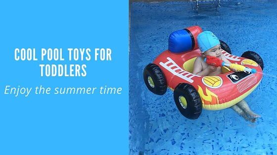 cool pool toys for toddlers-feature image